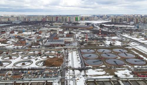 Собянин оценил итоги I этапа реконструкции Люберецких очистных сооружений