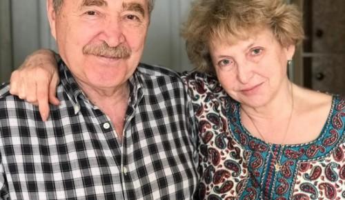 Прививки от COVID-19 в категории 65+ супруги из ЮЗАО Матвеевы сделали одними из первых