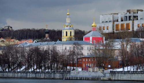 Прогулки по ЮЗАО: Андреевский монастырь и Мамонова дача
