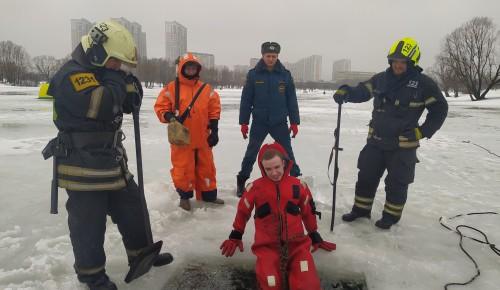 Проект «СОВБЕЗ» научился самоспасению при провале под лёд