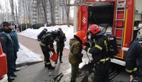 В колледже МЧС имени Героя Российской Федерации В. М. Максимчука прошла учебная эвакуация
