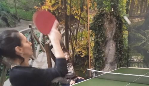 В Ломоносовском районе открылся спортивный клуб по настольному теннису «Чемпион»