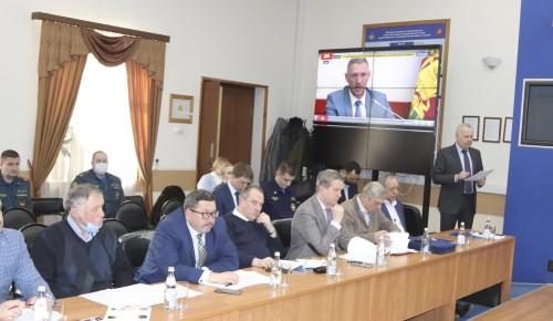 Состоялось заседание Общественного совета при Главном управлении МЧС России по г. Москве