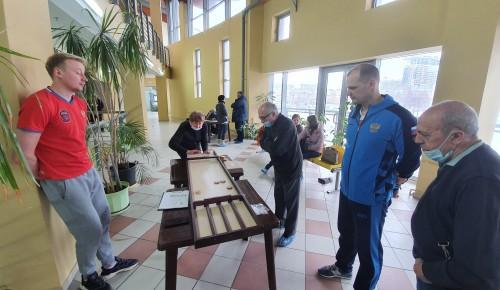 Команда из Обручевского района приняла участие в окружных соревнованиях по жульбаку