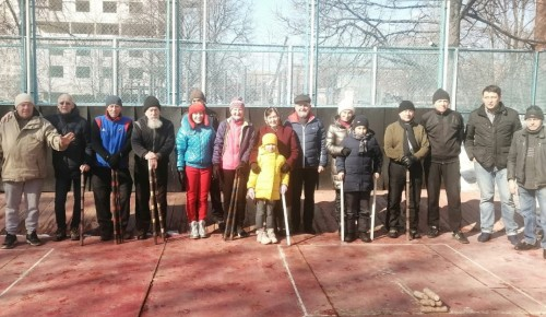 В Академическом районе состоялись районные соревнования по игре в городки