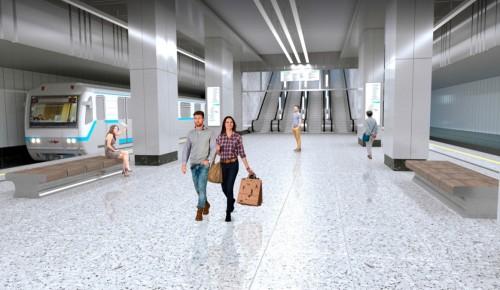 На проекте «Активный гражданин»  выбирают название для станции БКЛ  в районе Хорошево-Мневники