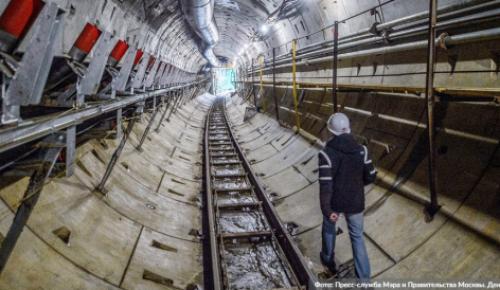 """Щит """"Наталия"""" завершает проходку под оранжевой веткой метро"""