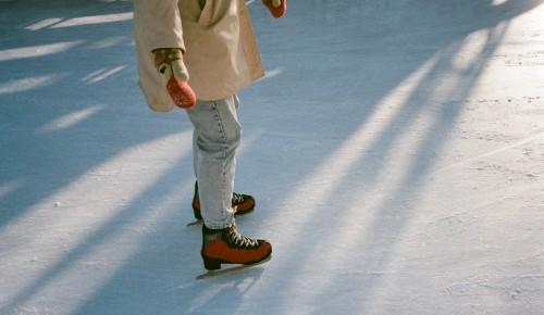 Каток с искусственным льдом в парке «Новые Черемушки» закроется 26 марта