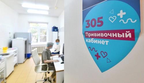 Около миллиона москвичей привилось от коронавируса