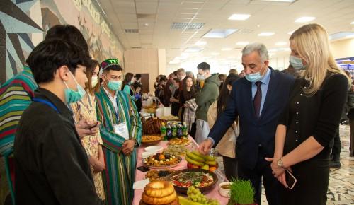 Весенний праздник Навруз отпраздновали в МГРИ