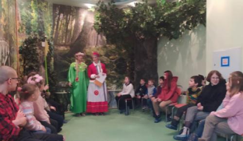 """Воспитанники семейного центра """"Зюзино"""" филиала """"Ломоносовский"""" встретили весну"""