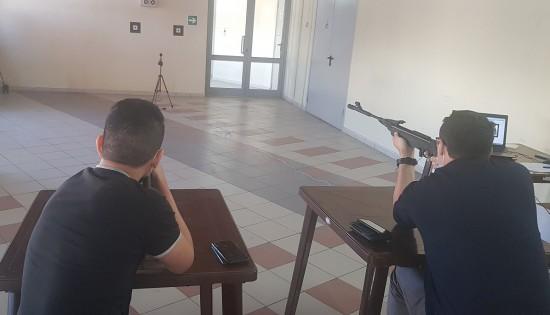 В ЮЗАО выполнили норматив ГТО по стрельбе из электронного оружия