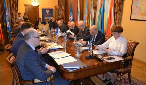 Сотрудники Губкинского университета приняли участие в заседании Научно-консультативного совета СНГ