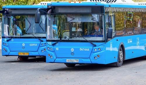 В Обручевском районе автобусную остановку «Улица Новаторов» перенесли