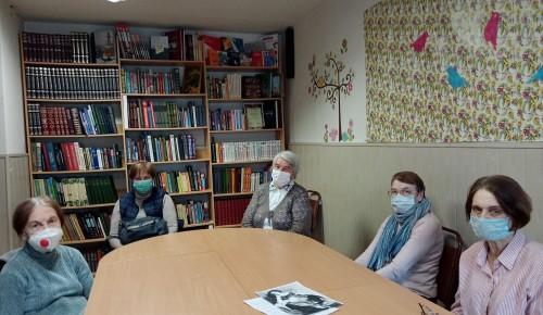 В библиотеке № 191 прошла литературная программа «Король русского юмора»