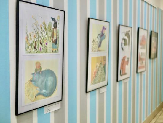 В библиотеке Барто экспонируется выставка  художника-иллюстратора детских книг