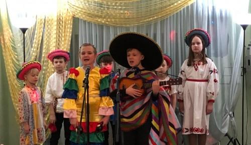 В досуговом центре «Лабиринт» прошел фестиваль народной песни