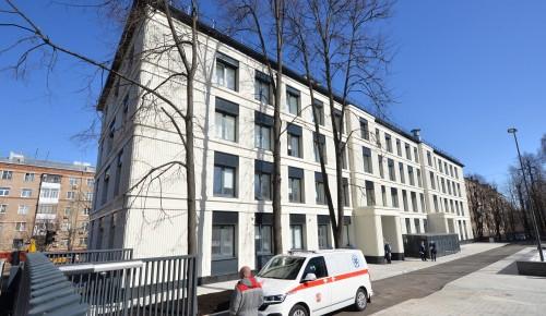 Реконструкция здания городской поликлиники №22