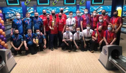 На чемпионате России по боулингу спортсмены «Самбо-70» завоевали 12 золотых медалей