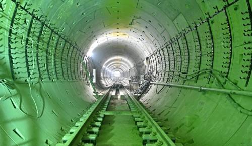 """Проходка левого перегонного тоннеля между станциями БКЛ """"Зюзино"""" и """"Воронцовская"""" завершена"""