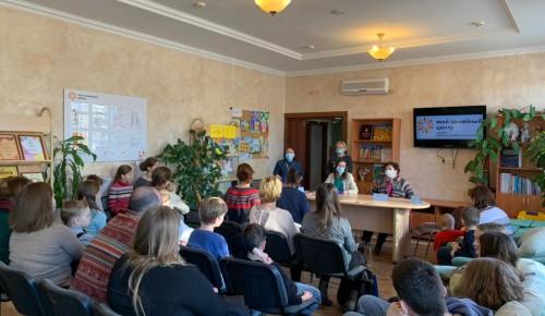 Жителям Черемушек рассказали о том, как ведется работа с многодетными и малообеспеченными семьями