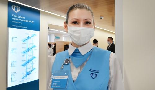 В обновленной  поликлинике №22 на Ремизова принимают  28 врачей