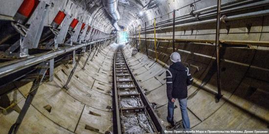 Проходка последнего тоннеля на южном участке БКЛ метро завершена