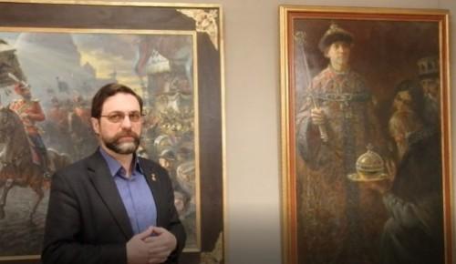 Заслуженный художник России Игорь Машков рассказал  котловчанам о выставке «Вера. Отечество. Честь»
