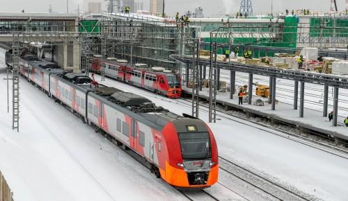 Собянин: Реконструкция участка Каланчёвская – Курская МЖД выполнена на 45%