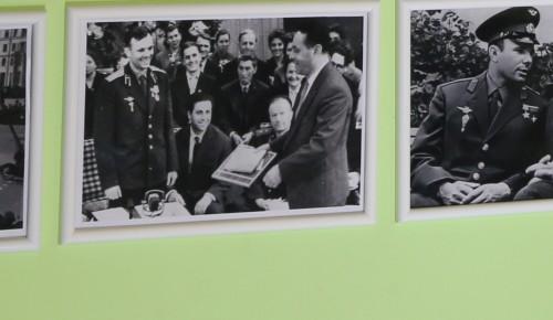 Как подружились два Юрия. Выставку в Гагаринском районе посвятили первому космонавту