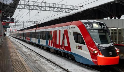 Собянин отметил темпы модернизации железнодорожной инфраструктуры в Москве