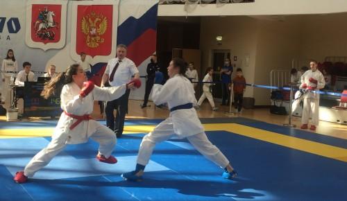 """В """"Самбо-70"""" прошел открытый турнир по каратэ"""