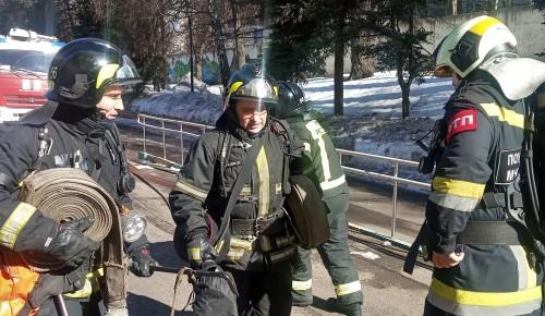 В ПНИ № 20 учились тушить пожар