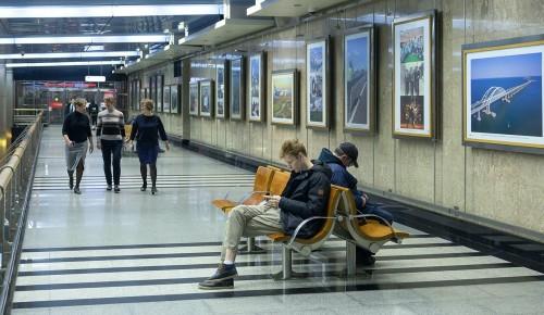 В московском метро можно увидеть произведения современных художников