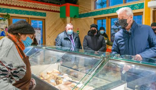 Собянин: В Москве до конца года откроется еще 20 круглогодичных ярмарок