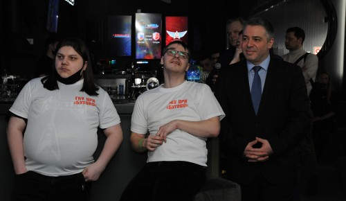 """Ребята из Центра реабилитации инвалидов """"Бутово"""" лидировали в киберспортивном турнире"""