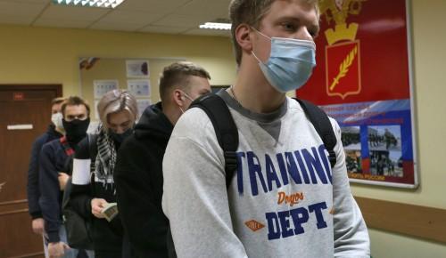 Этой весной в Обручевском районе планируется призвать 53 юношей