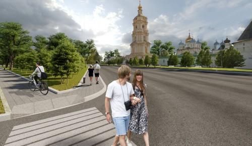 Благоустройство магистрали Большие Каменщики — Липецкая улица продолжится в этом году