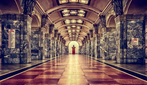 В Московском метро открылась выставка