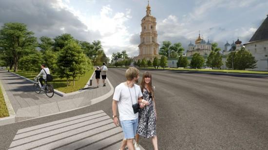 В этом году продолжится благоустройство магистрали Большие Каменщики — Липецкая улица