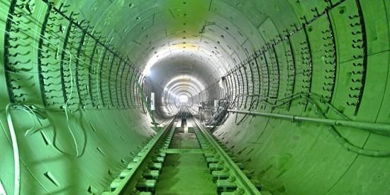 Строительство южного участка Большой кольцевой линии метро планируют завершить до конца этого года