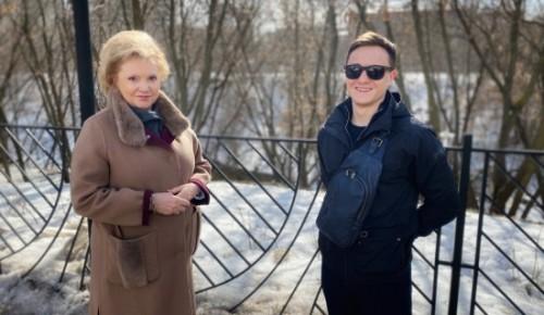 Главврач больницы №64 поддержала проект активиста Котловки «ЗОЖ моего района»