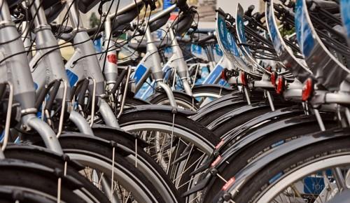 Точки велопроката в Академическом районе откроются 6 апреля