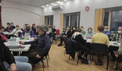 Жители Черемушек приняли участие в составлении проекта благоустройства дворовой территории