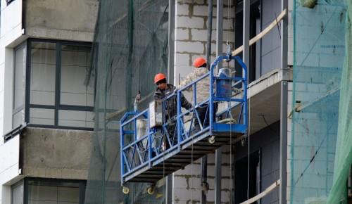 """Дом по программе реновации построят в Котловке рядом со зданиями-""""тетрисами"""""""