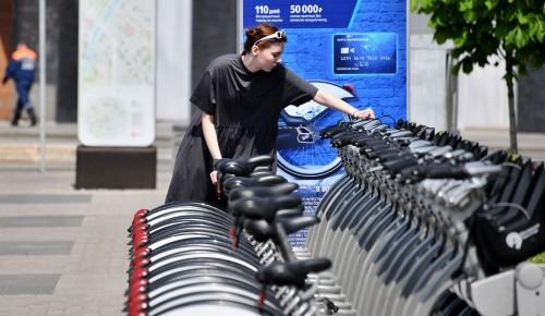 В Северном Бутове пункты велопроката откроют на этой неделе