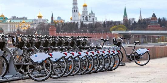В Москве начался новый сезон велопроката