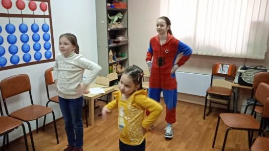 Занятие в театральной студии прошло в центре «Обручевский»