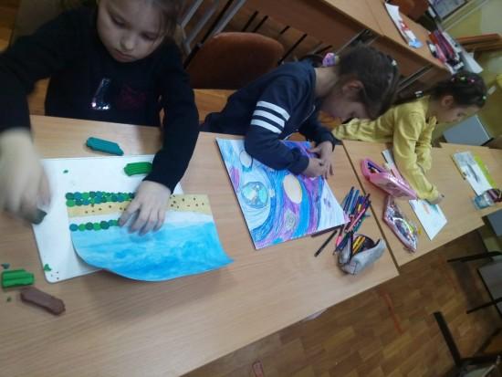 В центре «Обручевский» начали готовиться к акции «Рисуем Победу»