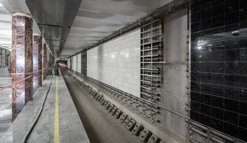 Андрей Бочкарев высоко оценил темпы строительства Троицкой линии метро